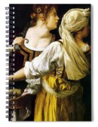 Judith And Her Maidservant 1613 Spiral Notebook