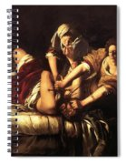 Judith Beheading Holofernes 1620 Spiral Notebook