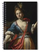 Judith With The Head Of Holofernes 2 Spiral Notebook
