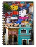 Juegos In Guanajuato Spiral Notebook