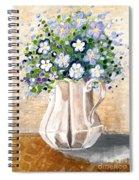 Jug Bouquet Spiral Notebook