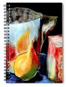 Jug With Fruit Spiral Notebook