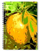 Juicy Apple On A Tree Spiral Notebook
