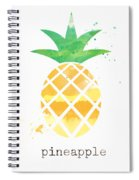 Juicy Pineapple Spiral Notebook