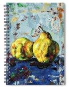 Juicy Quinces Spiral Notebook