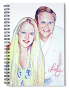 Jules And Tim Spiral Notebook