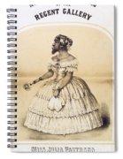 Julia Pastrana, Bearded Lady Spiral Notebook