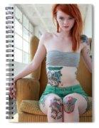 Julie Kennedy Spiral Notebook