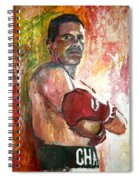 Julio Cesar Chavez Spiral Notebook