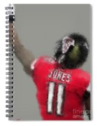 Julio Jones Spiral Notebook