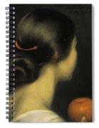 Julio Romero De Torres Spiral Notebook