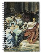 Julius Caesar (100-44 B.c.) Spiral Notebook