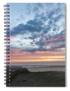July 2015 Sunset Part 2 Spiral Notebook