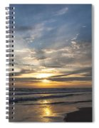 July 2015 Sunset Part 3 Spiral Notebook