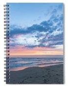 July 2015 Sunset Part 5 Spiral Notebook