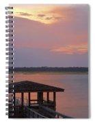 July Evening Spiral Notebook