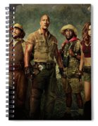 Jumanji Welcome To The Jungle 2.0 Spiral Notebook