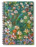 Jumbled Up Wildflowers Spiral Notebook