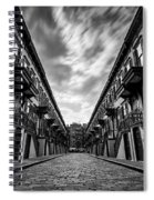 Jumel Terrace Historic District, Upper West Side New York Spiral Notebook