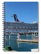 Jump Aboard Spiral Notebook