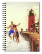 Jump Spiral Notebook