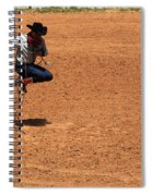 Jump Rope Cowboy Style Spiral Notebook