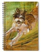 Jumping Dog Schlick 1908 Spiral Notebook