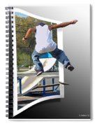 Jumping Out Of The Picture Spiral Notebook