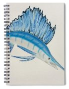 Jumping Swordfish  Spiral Notebook