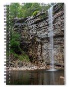 June Morning At Awosting Falls II Spiral Notebook
