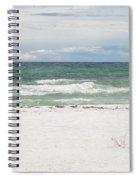 June Waves Spiral Notebook