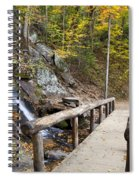 Juney Whank Falls And A Place To Rest Spiral Notebook