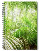 Jungle Abstract 1 Spiral Notebook