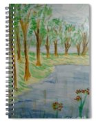 Jungle-brookside Spiral Notebook