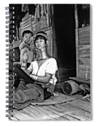 Jungle Crafts Bw Spiral Notebook