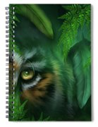 Jungle Eyes - Tiger And Panther Spiral Notebook