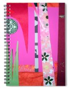 Jungle Temple Spiral Notebook