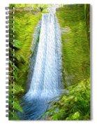 Jungle Waterfall Spiral Notebook