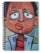 Junior Artist Sans Crayon Hair Spiral Notebook