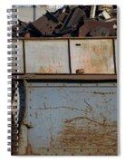 Junk 10 Spiral Notebook