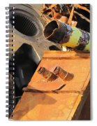 Junk 17 Spiral Notebook