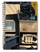 Junk 6 Spiral Notebook