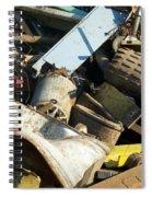 Junk 8 Spiral Notebook