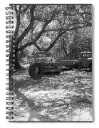 Junk Yard Dog Spiral Notebook