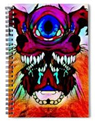 Junkie Cyclops Spiral Notebook