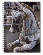 Junkyard Horse Spiral Notebook
