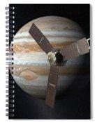 Juno Mission To Jupiter Spiral Notebook