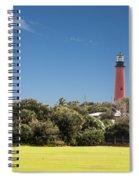 Jupiter Inlet Lighthouse Spiral Notebook