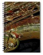 Jupiter Saxophone Spiral Notebook