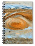Jupiterian Storm Of The Century Spiral Notebook